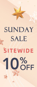 Sunday Sale 10% Off Sitewide