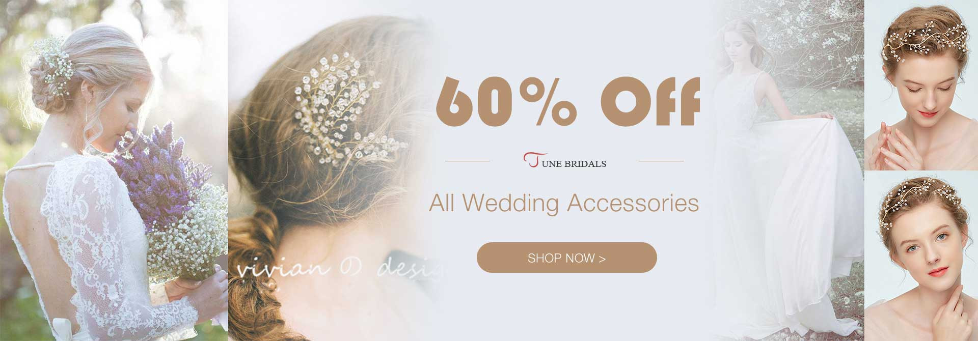 60% Off All Wedding Accessories