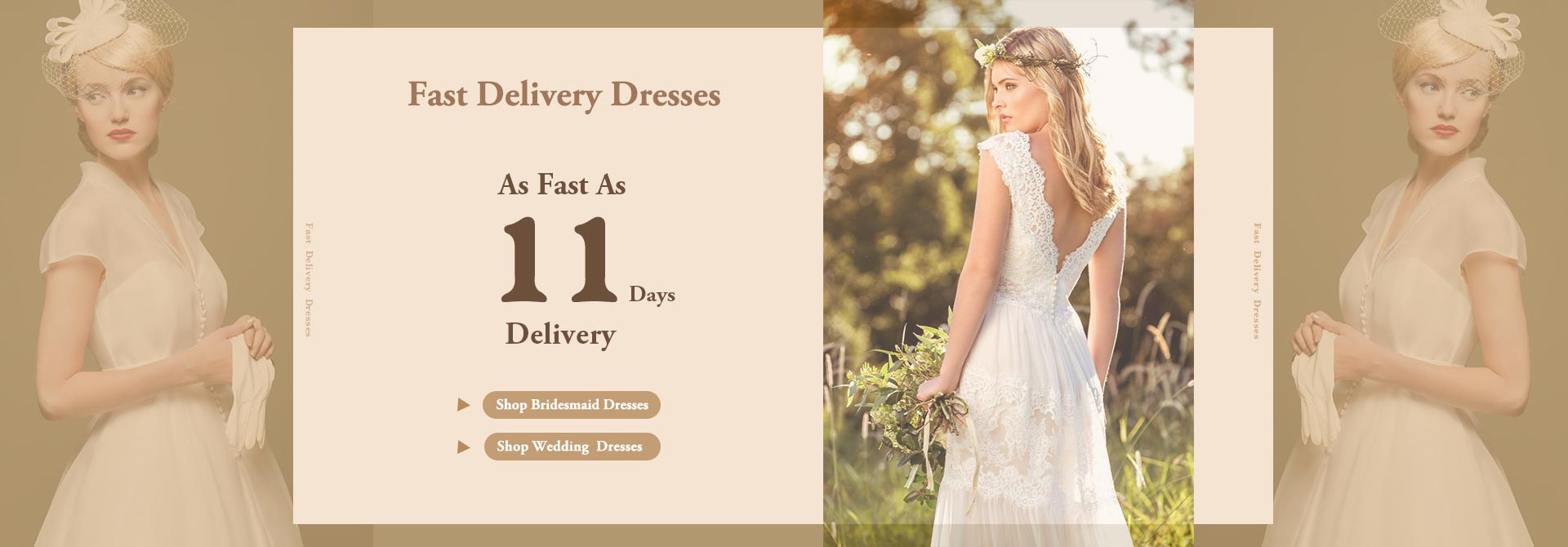 Fast Delivery Made to Order Dresses! As Fast As 11 Days Delivery!